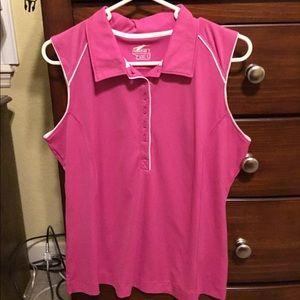 Slazenger Womens Sleeveless Golf Polo